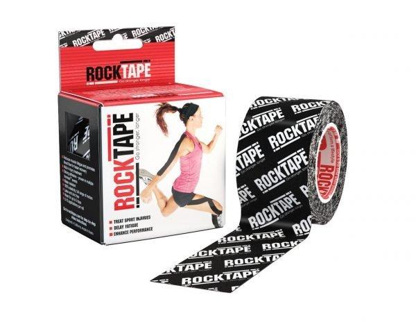 Svart Rocktape Logo