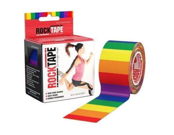 Rainbow Rocktape 5x5