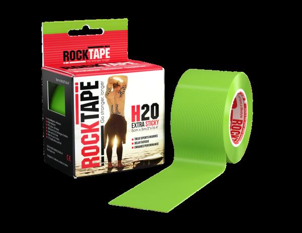 H2O Lime green Rocktape